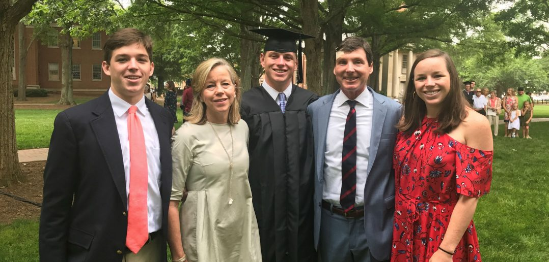 Ukrop family at 2017 Davidson Commencement