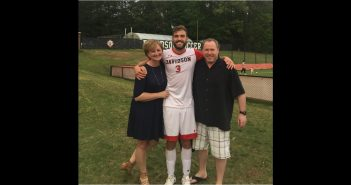 Matt Reinikka '18 with parents