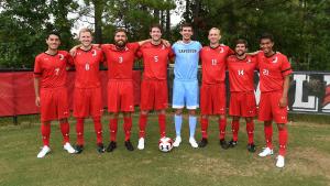 Men's Soccer - 2017 fall seniors