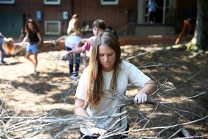 Hurricane Florence Campus CleanUp
