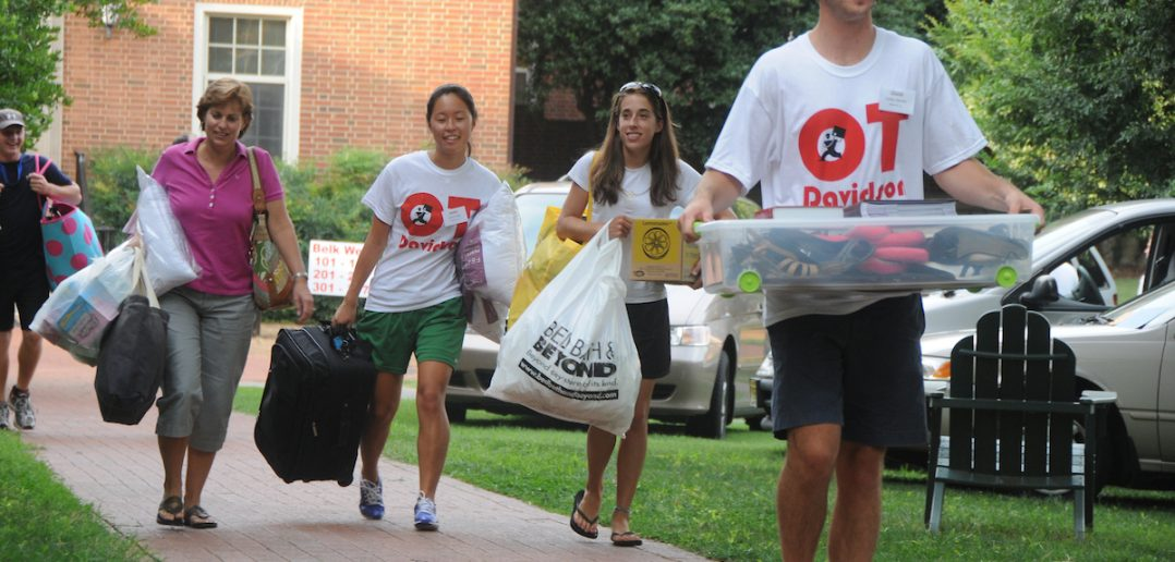 First-year move in
