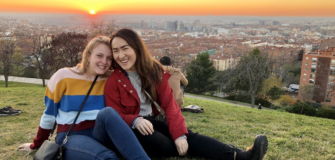 Student Studying Abroad